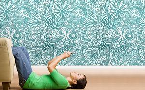 Papeles pintados, Paneles decorativos