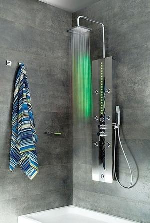La columna de ducha es un elemento de grifería que incluye un grifo  monomando 21777b2e9ea8