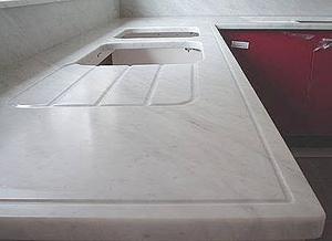 el mrmol se usa desde hace mucho tiempo para esculturas revestimiento de paredes y suelos las encimeras de mrmol ofrecen la gran ventaja de la - Encimera Marmol