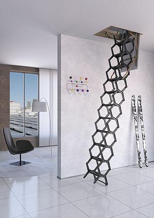Escalera elevada abatible - Todos los fabricantes de la arquitectura ...