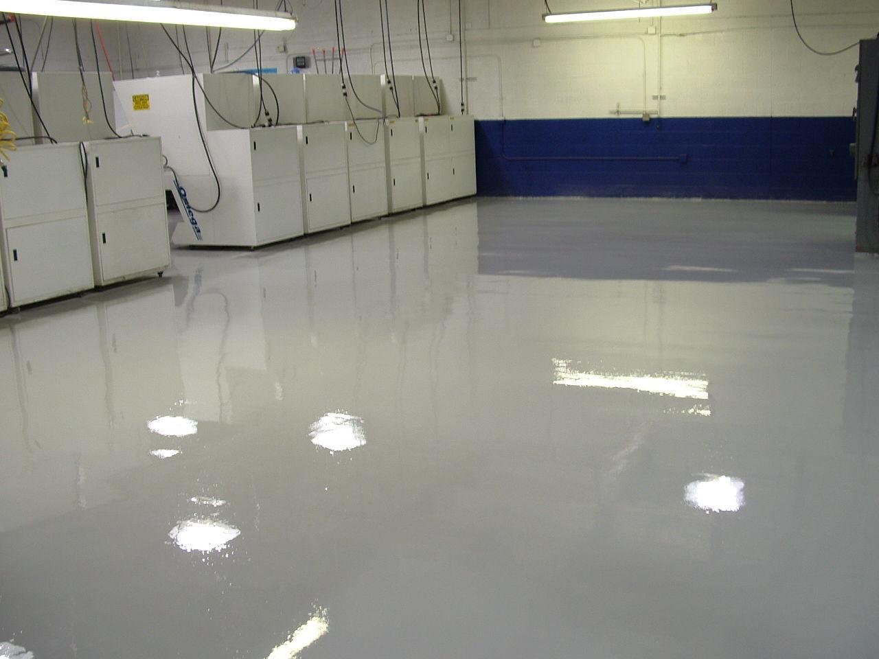 Pavimento de epoxi / para uso profesional / encerado / aspecto ...