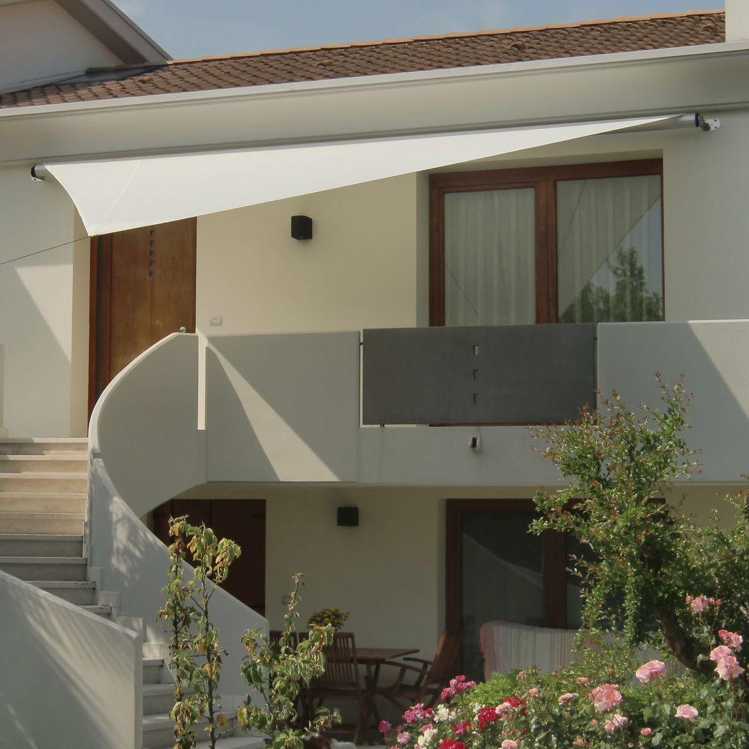 toldo vela triangular rectangular de tejido vela muro - Toldo Vela Rectangular