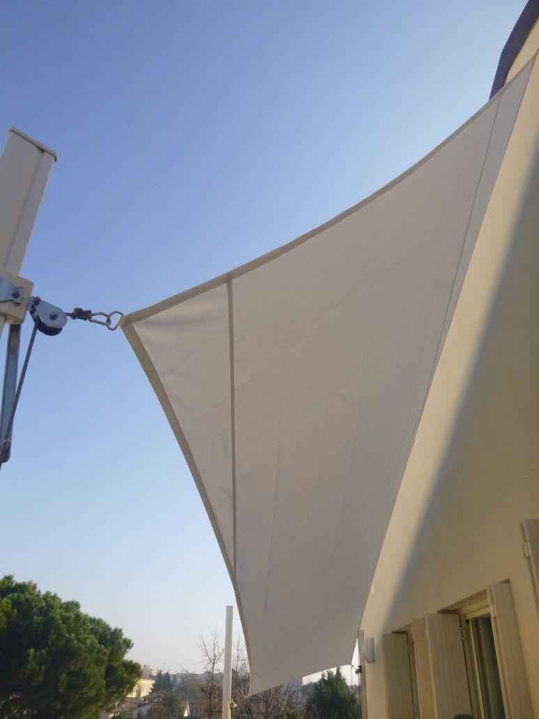 toldo vela triangular rectangular de tejido vela muro il ceppo - Toldo Vela Rectangular