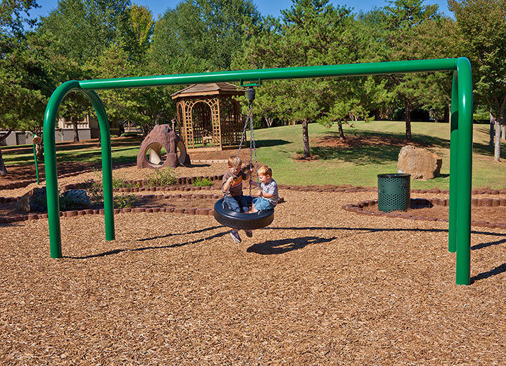 Columpio de metal / para parque infantil - TIRE - GameTime
