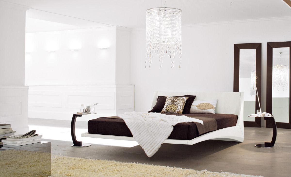 Cama estándar / de matrimonio / moderna / tapizada - DYLAN by Andrea ...