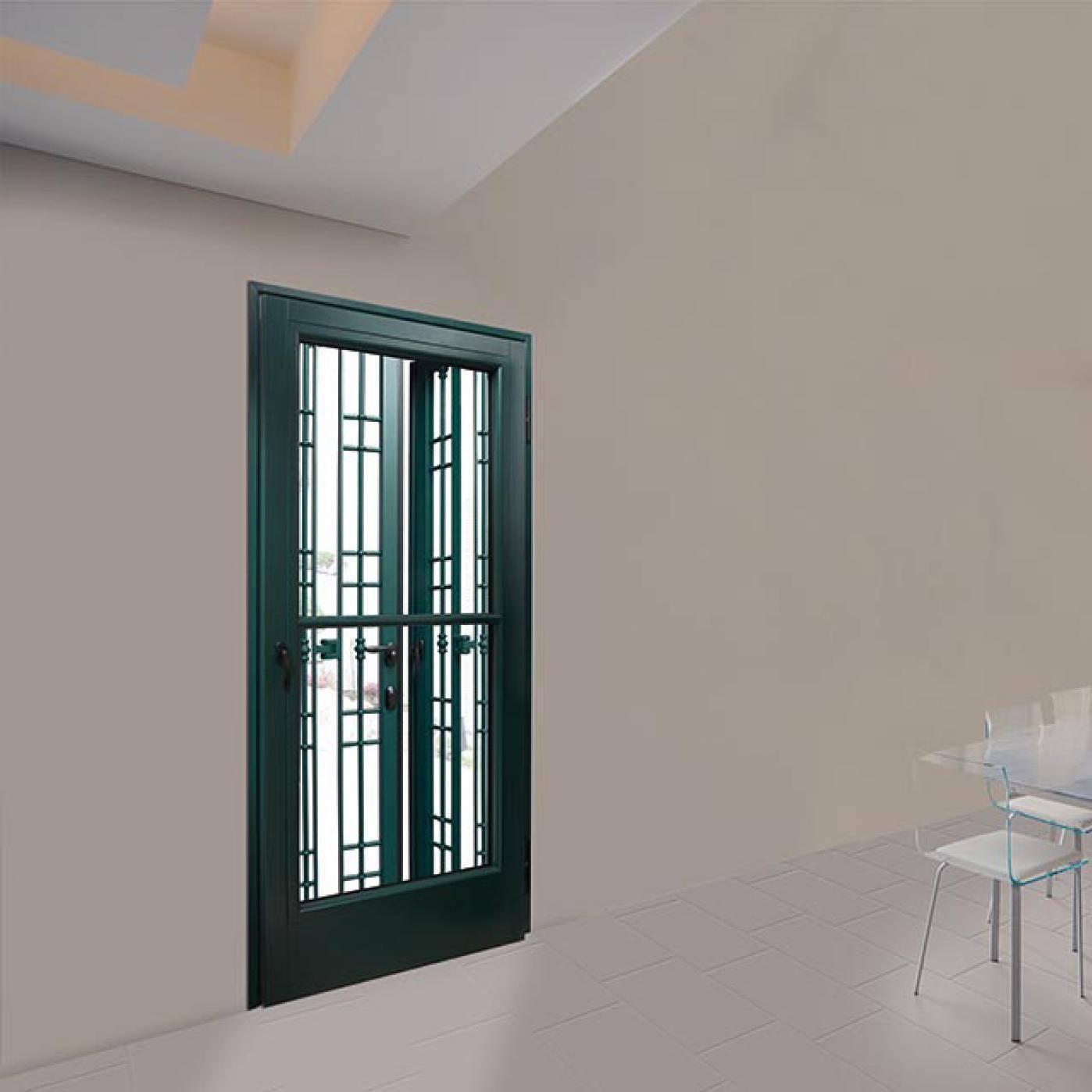 Reja de seguridad amovible / para ventana / para puerta - GRETA - Dierre