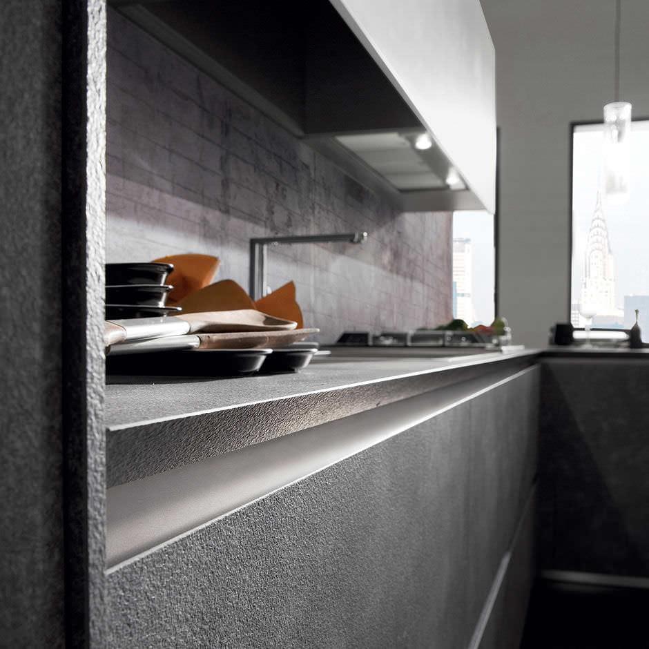 Cocina moderna / de material laminado / en L - CRETA CORNER by ...