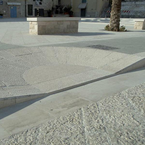 baldosa de exterior de suelo de piedra natural de color liso genius