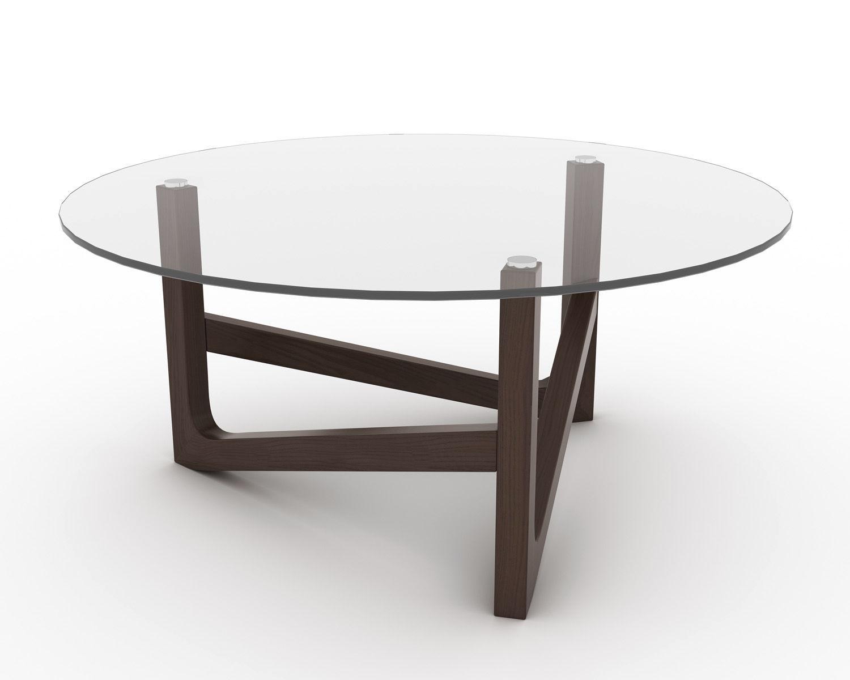 mesa de centro vidrio paris
