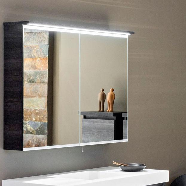Mueble de pared para cuarto de baño con espejo - WATER - ALKE