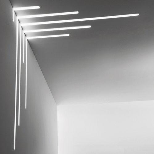 Perfil de iluminación de techo / empotrable / LED / regulable ...