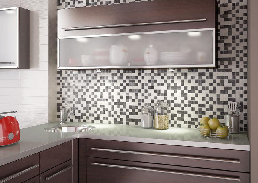Mosaico para cocina / de pared / de cerámica / mate - BULEVAR - Nais!