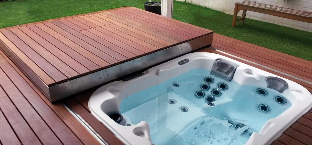 cubierta para piscina terraza mvil automtico de seguridad trmico ambient egoe