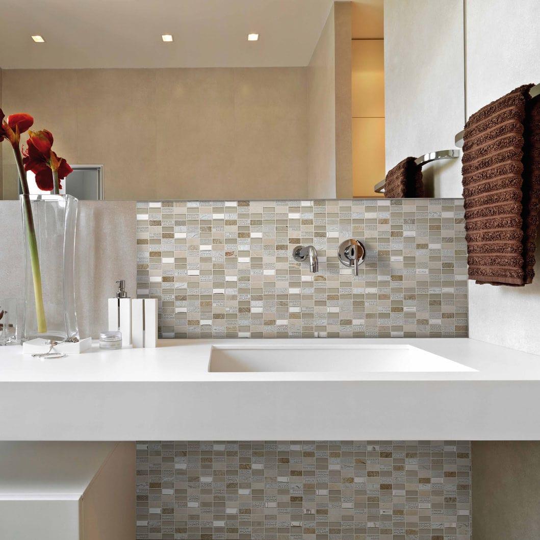 mosaico para bao para cocina de pared de mrmol trip city