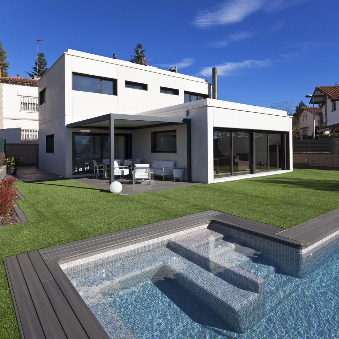 casa modular moderna de hormign modulor m