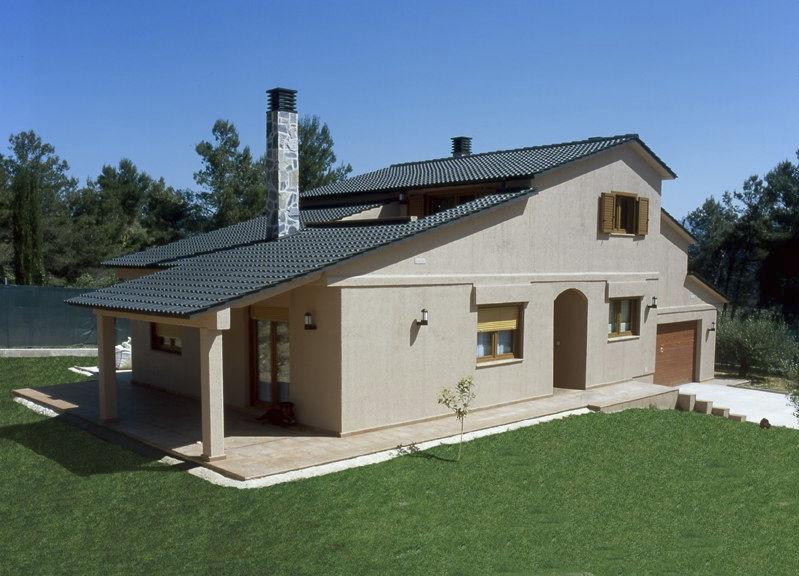 Casa prefabricada / moderna / de madera / de hormigón - TRADIXALET ...