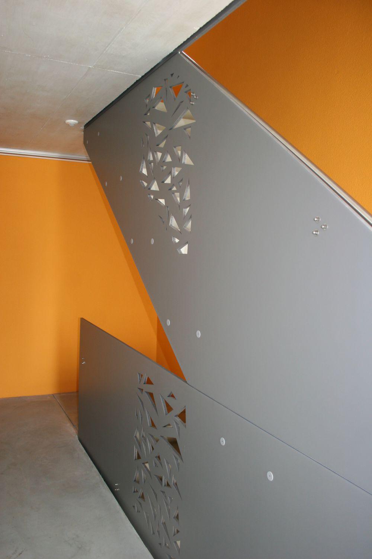 Panel decorativo de fibra de madera / para tabique / para exteriores ...