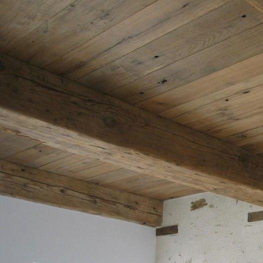 Viga de madera maciza rectangular para forjado bca materiaux