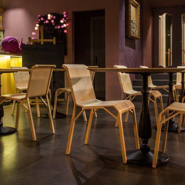 5d0455372a9 silla moderna   de chapa de madera   para el sector servicios - TRIMO by  Aldis Circenis