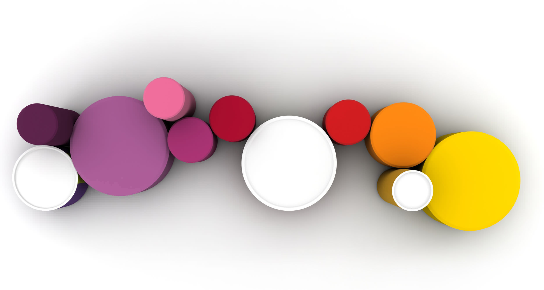 puf de diseo pop de tela modular redondo roundabout lina furniture