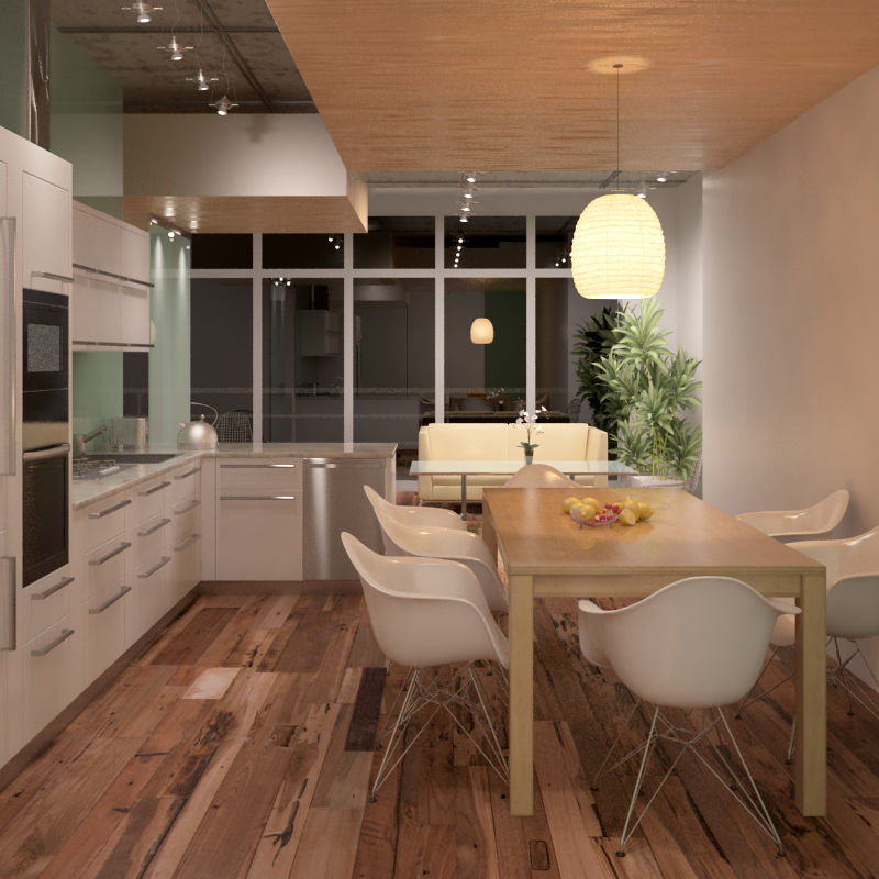 Panel decorativo de teca / de madera maciza / para interiores / de ...
