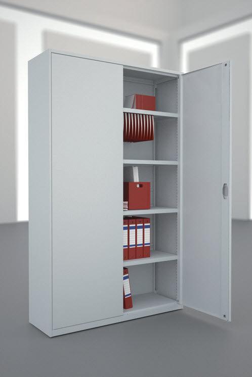 armario de oficina alto de acero modular de persiana eun shelving k