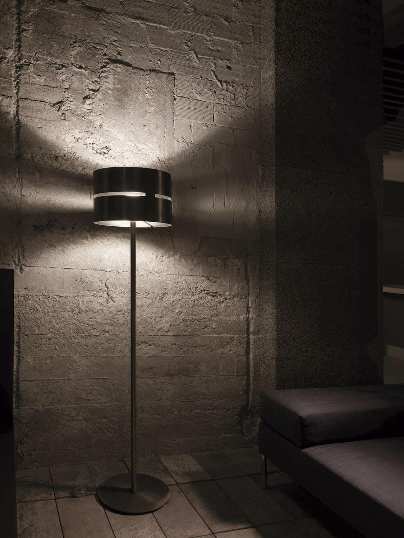 lmpara de pie moderna de metal de interior