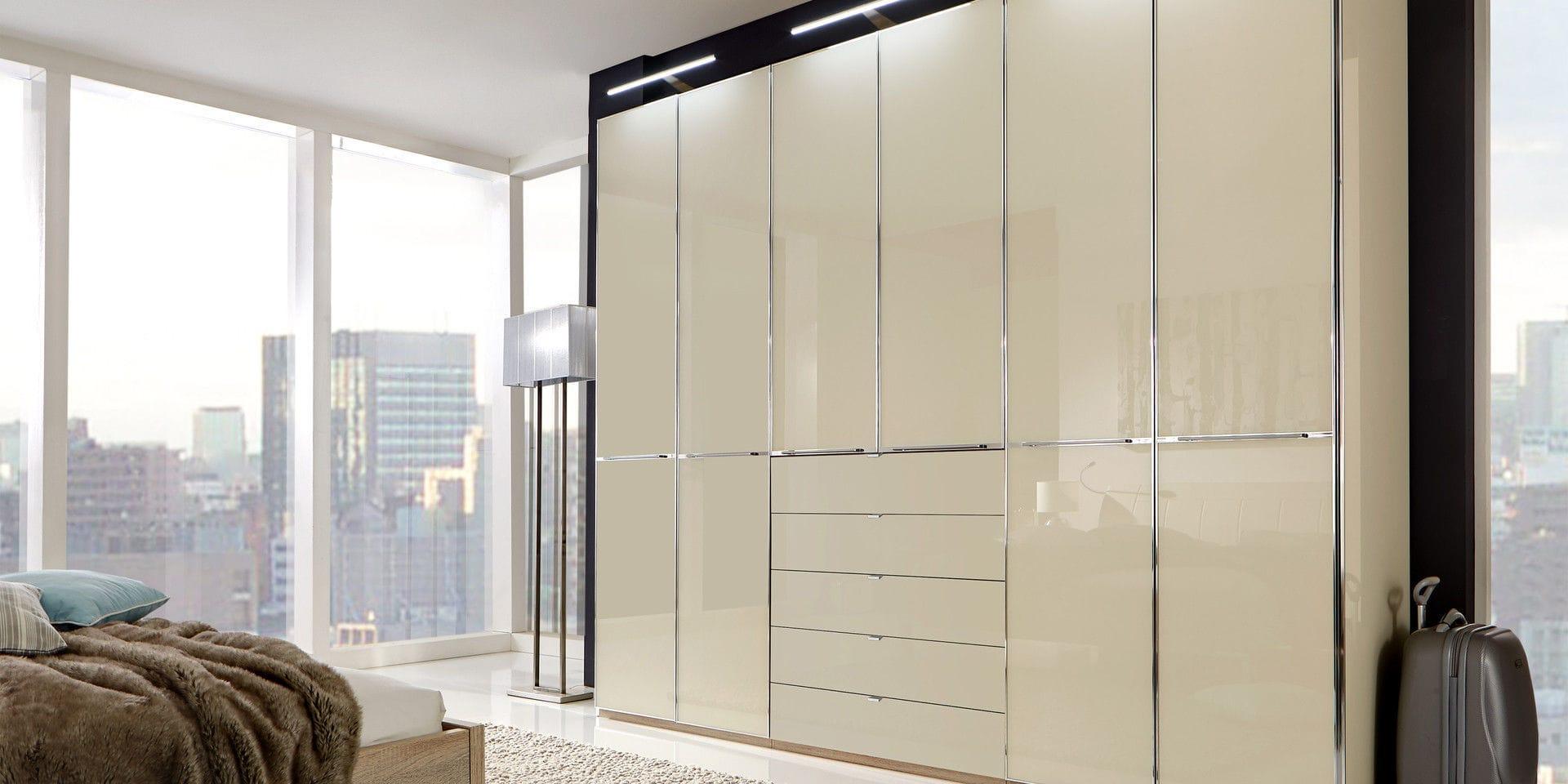 armario en esquina moderno de madera con puertas corredizas shanghai