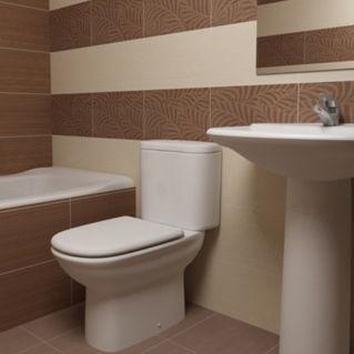 ba0ba11dbf16e Baldosa de baño   de pared   de cerámica   con motivos - GARDEN - atenea
