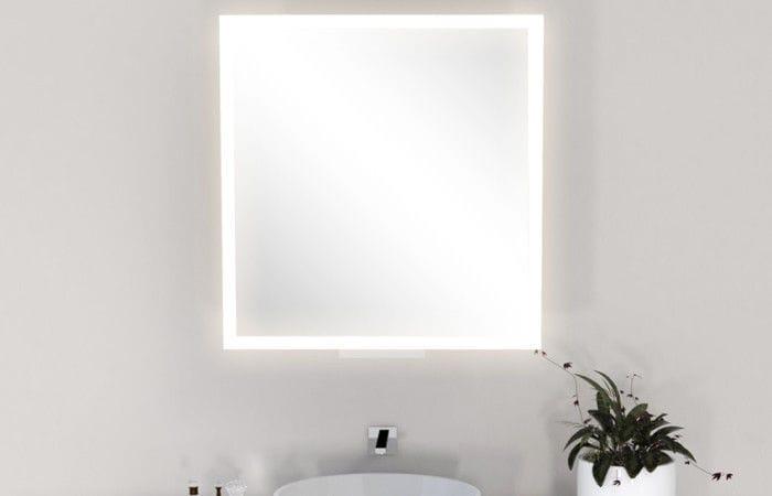 Espejos De Baño Con Luz Led | Espejo Para Bano De Pared Con Luz Led Para Dormitorio Moderno