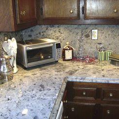 encimera de granito de granito para cocina ice pearl