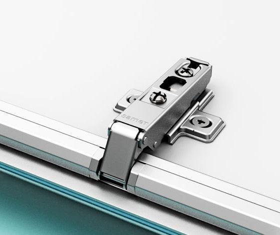 bisagra para puerta de cristal para mueble de aluminio special star