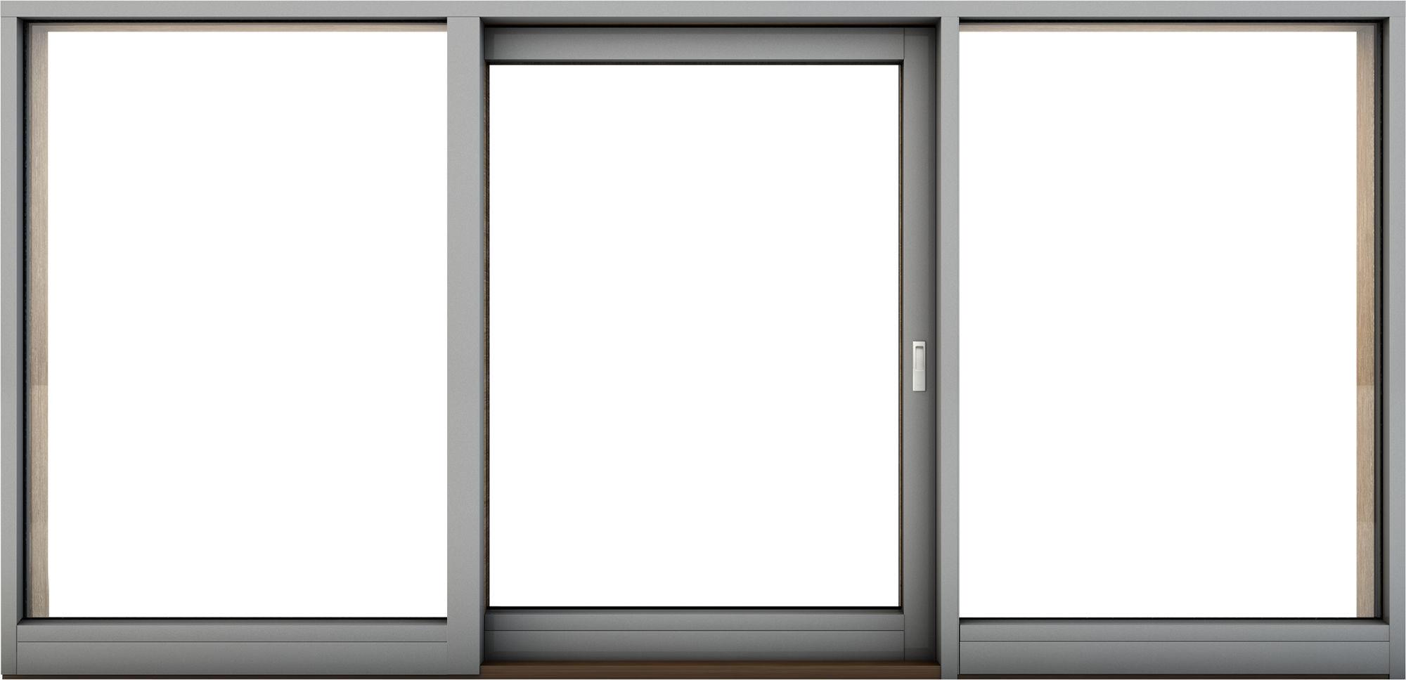 Ventanal corredero / de aluminio / con vidrio triple - G - hajom ...