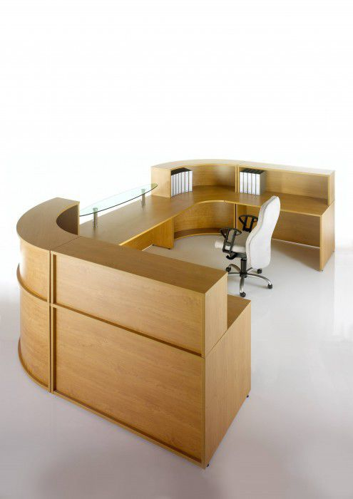 Mostrador de recepción en arco de círculo / de esquina / modular ...