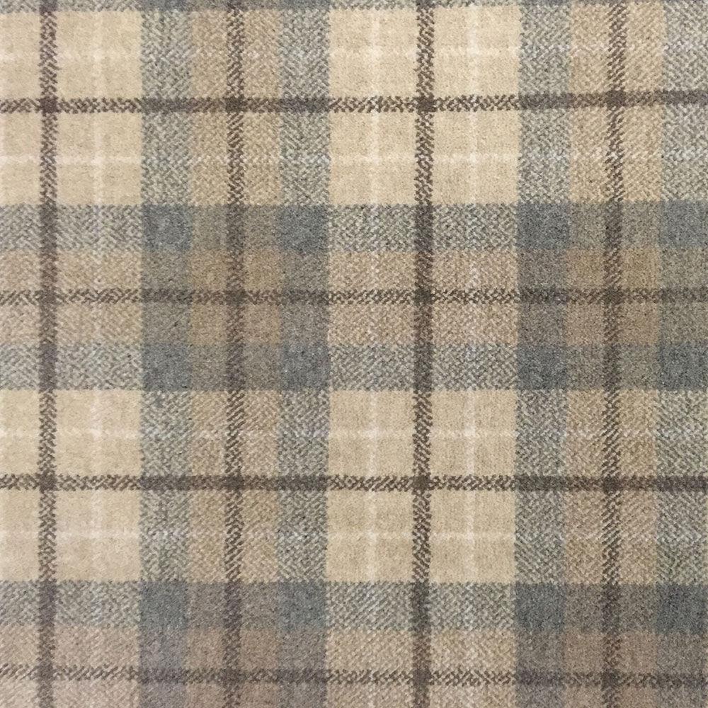 alfombra moderna a cuadros de lana rectangular balwen tartan