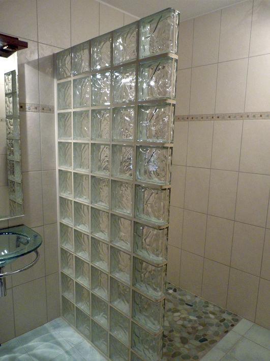 ladrillo de vidrio cuadrado curvo con relieve para fachada - Ladrillos De Vidrio
