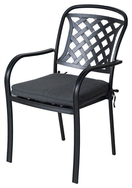 Conjunto de mesa y silla moderno / de aluminio / redondo / de jardín ...