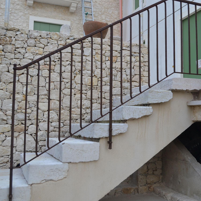 Barandas Para Escaleras Modernas Simple De Hierro Modernas