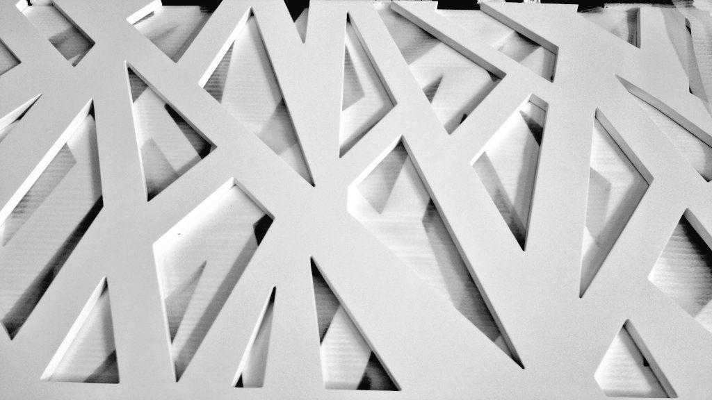 Panel decorativo MDF / de material compuesto / de acero inoxidable ...