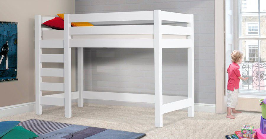 Cama Alta Individual Moderna De Madera High Sleeper Loft - Cama-loft