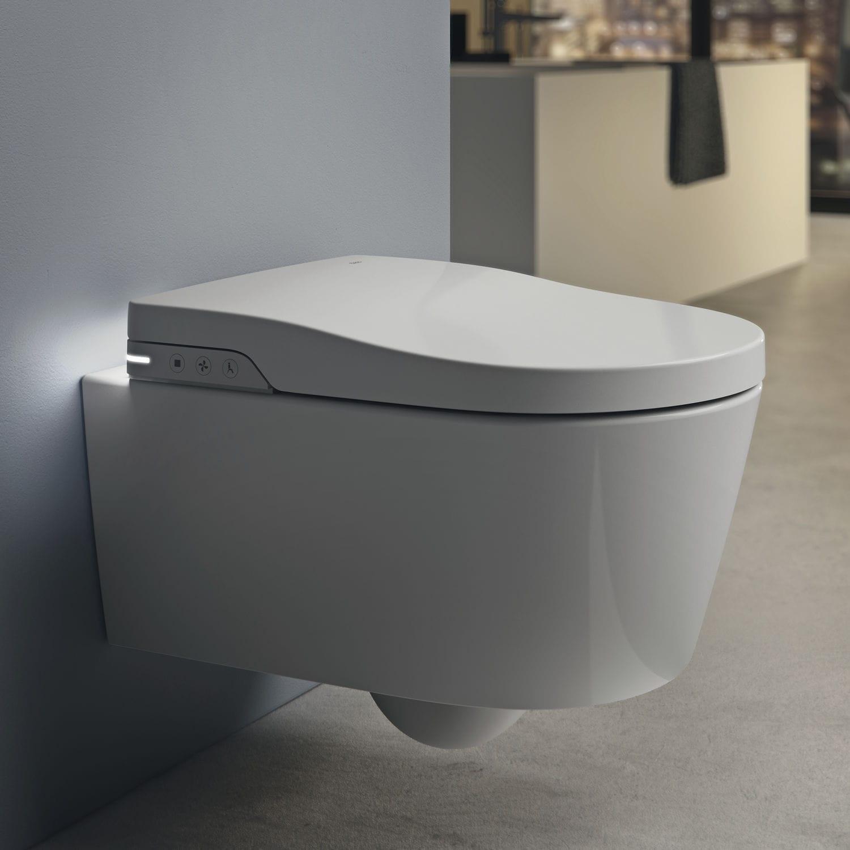De Suspendido Inodoro Cisterna Inteligente Porcelana Con YgbyfvI76m