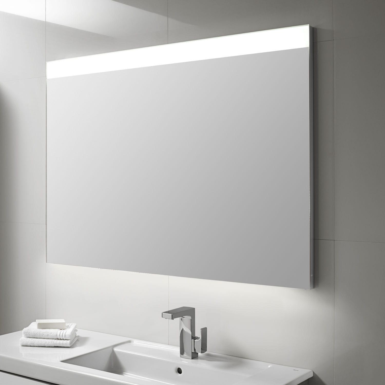 Espejo Para Bano De Pared Con Luz Led Moderno Rectangular