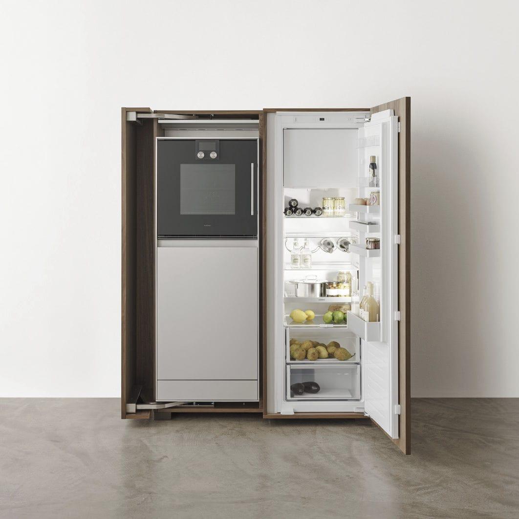 Armario De Cocina De Nogal Appliance Housing Cabinet Bulthaup # Muebles Bulthaup