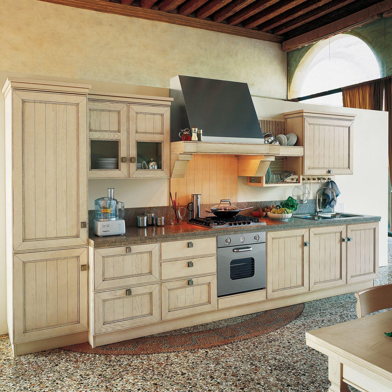 Cocina clásica / de fresno / de madera maciza / lacada - SETTECENTO ...