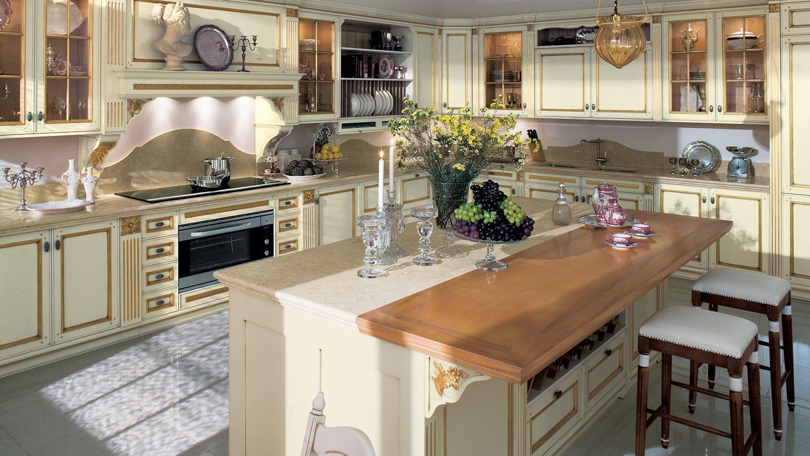 Mueble Alto Para Cocina Fortuna Gold By Luciano Dal Bello Gd  # Muebles Luciano