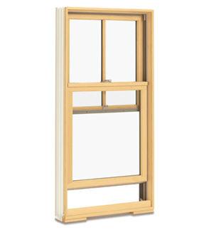 Ventanas guillotina madera