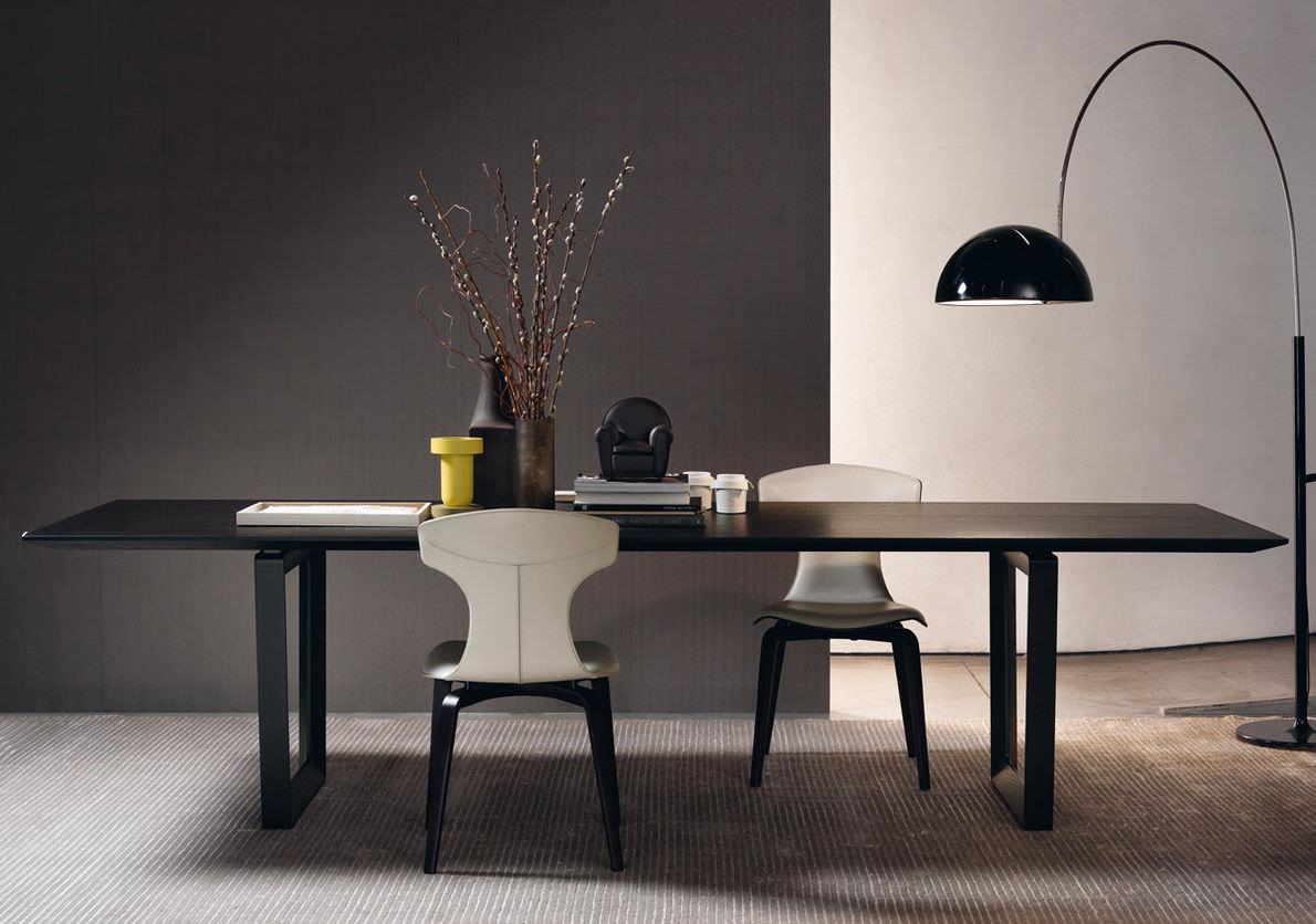 Mesa de comedor moderna / de chapa de madera / de mármol ...
