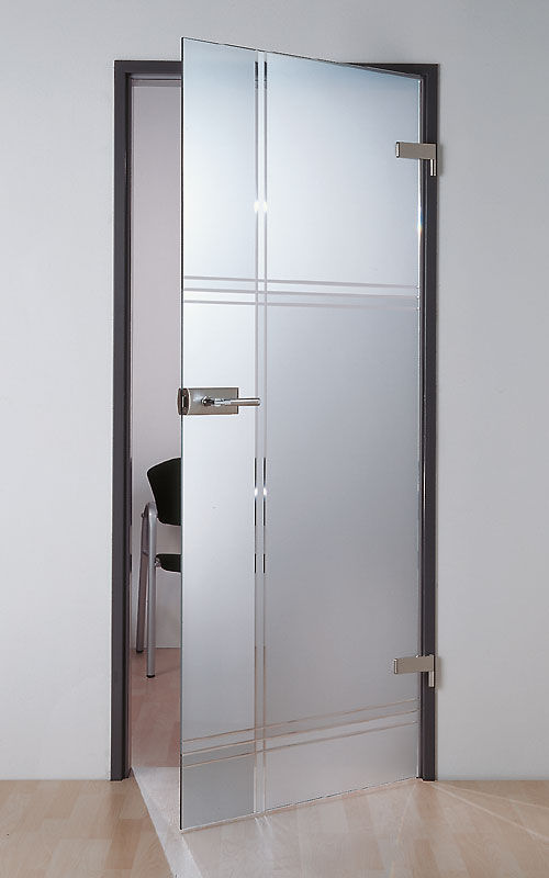 puerta de interior abatible corredera de vidrio aachen