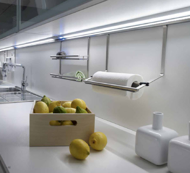 Luminaria LED lineal para mueble xey
