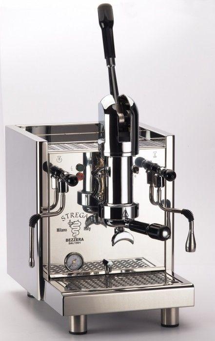 Cafetera manual de palanca